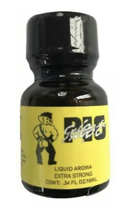 Poppers PIG SWEAT 10ml - Aphrodisiaque Sexe Stimulant Homme Femme