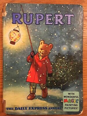 Rupert Bear Annual - Number 25- Year 1960 Issue - Hardback Book