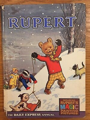 Rupert Bear Annual - Number 32- Year 1967 Issue - Hardback Book