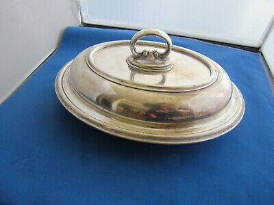 Stunning vintage silver plated  made in England veggie dish