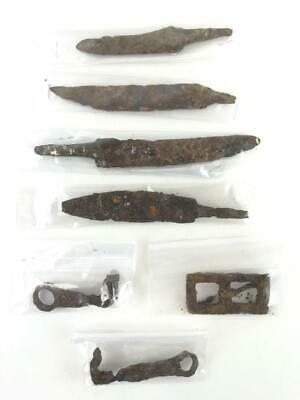 Ancient Roman Tool Lot Of 7 1st 2nd A.D.