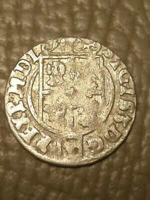 The 1624 SILVER Coin Ancient Pirate Shipwreck Treasure Chest Era Old Vintage US