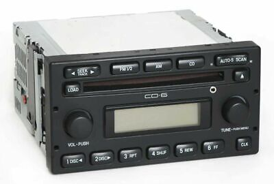 Ford Escape 2006 Radio Am Fm 6 Disc Cd Player W Auxiliary Input 5l8t 18c815