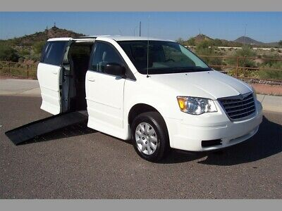 2010 Chrysler Town & Country LX Wheelchair Handicap Mobility Van 2010 Chrysler Town & Country LX Wheelchair Handicap Mobility Van  Handicap Wheel