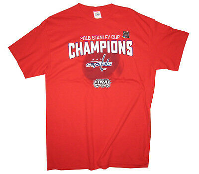 NHL WASHINGTON CAPITALS 2018 Stanley Cup Champions 2XL Red Polo ... 30a91acf7