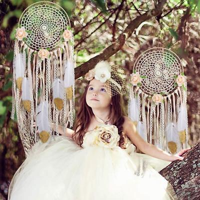 Large Boho Dream Catcher Feather Kit DIY Wall Hanging Dreamcatcher Room Decor