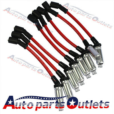 High Performance  For 2000-2009 CHEVY GMC V8  Spark Plug Ignition Wire