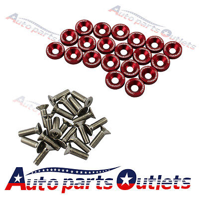 5PC BLACK SPIKED NUTS BOLT FOR ENGINE BAY DRESS UP M6X1 6mm spike honda acura