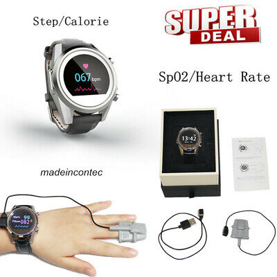 CONTEC Wireless Mode Wearable SpO2,PR,ECG,Pedometer Watch CMS50K1 Newest 2019