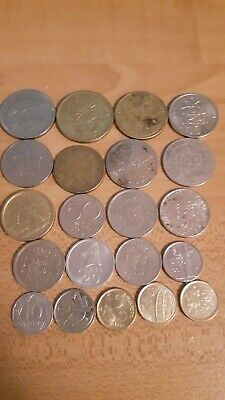 Lot of 21 World coins
