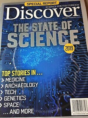 "SPECIAL REPORT ~ "" Discover ""~January / February 2019 ~ The  State  of  Science"
