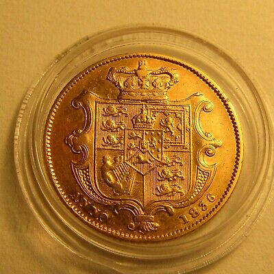 1836 William Iv Full Sovereign