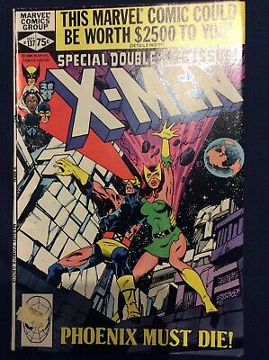 The Uncanny X-Men #137 September 1980 Phoenix must die