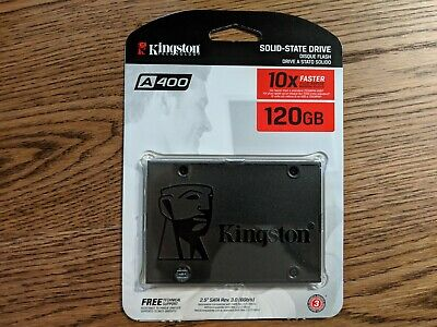"Kingston A400 2.5"" 120GB SATA III TLC Internal Solid State Drive SSD"