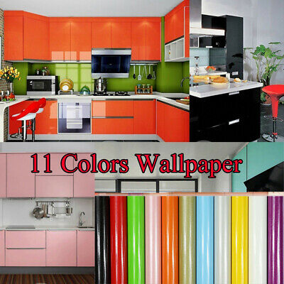 Cabinet PVC Self Adhesive Wallpaper Home Decor Wall Decal Vinyl Stickers