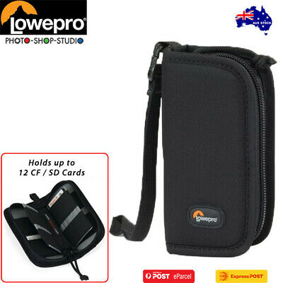 AU Stock* Lowepro LP36255 S&F Memory Wallet 20 (Black,fits up to 12 CF/SD Cards)