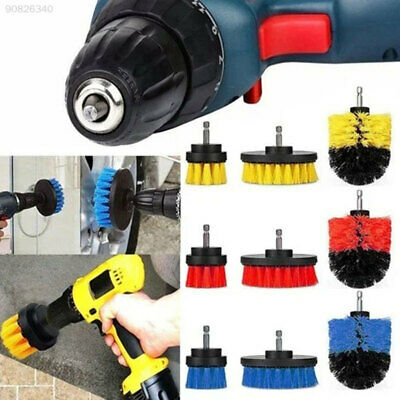 7324 3 Colors Cleaning Brushes Set Churn Drilling General Cleaning Durable