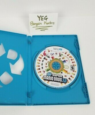 New Super Mario Bros. U (Nintendo Wii U, 2012) Game Only Tested Canadian Seller
