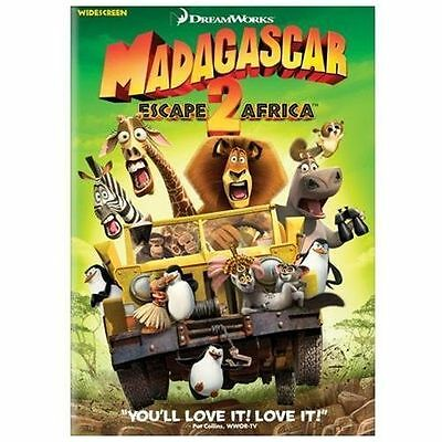 Madagascar: Escape 2 Africa (Widescreen Edition) AMAZING DVD IN PERFECT CONDITIO