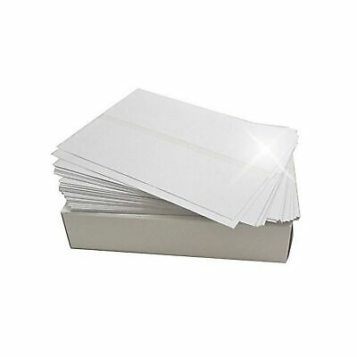 Bright White Box of 300 Double Postage Meter Tapes 5 1/4 x 3 1/2 Compares to ...