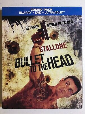 Bullet to the Head (Blu-ray/DVD, 2013, 2-Disc Set) Brand New! Sealed!