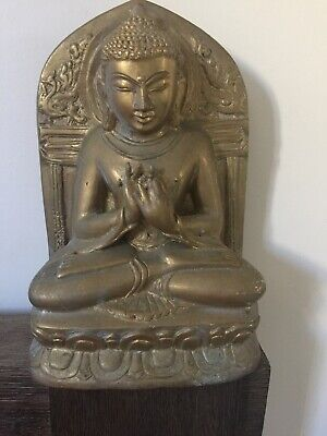 Heavy Brass Antique Budha