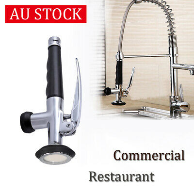 Commercial Kitchen Pre-Rinse Spray Head Sprayer Faucet Tap Mixer Sink Tap Tool