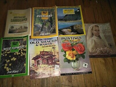 How to Paint books Walter T Foster Jim Hays - Used
