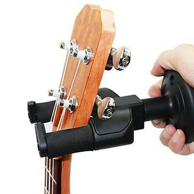 Guitar Wall Mount Hanger Holder Stand Rack Hook For Violin Ukulele Bass ABS