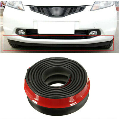82C6 98 Inch Auto Car Vehicle Front Bumper Rubber Skirt Guard Protector Lip
