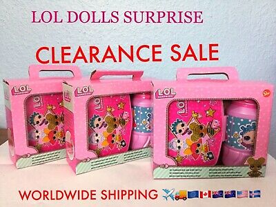 Novelty LOL Surprise Dolls Sweets chocolate easter eggs Decorations Gift Bags