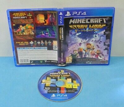 Juego Ps4 Playstation 4 Pal Español - Minecraft Story Mode