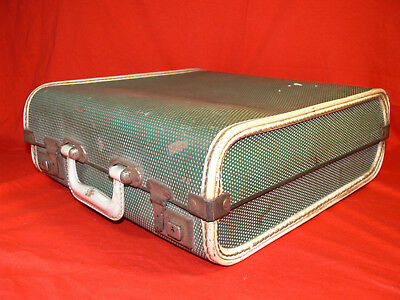 VINTAGE Carry Case/Port/Suitcase HARD FIBRE Old Rustic Looking RETRO 1950's-60's