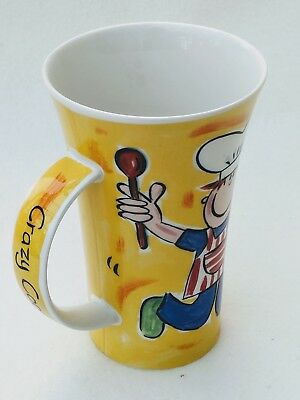 Dunoon Mug Crazy Cooks Mug Jane Brookshaw Design Hot Chocolate Tea Cup Cookies