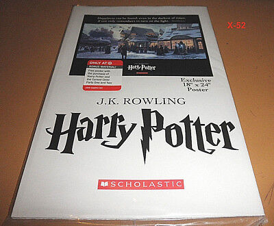 """HARRY POTTER target EXCLUSIVE 18x24"""" poster JK ROWLING cursed child promo item"""