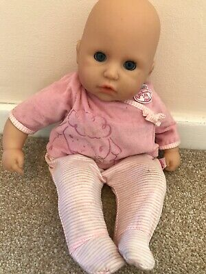 Zapf creation my first baby annabell soft body toy doll Makes Baby Noises