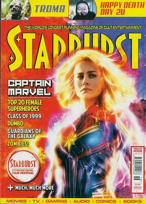 UK STARBURST Magazine March 2019: CAPTAIN MARVEL Brie Larson COVER STORY