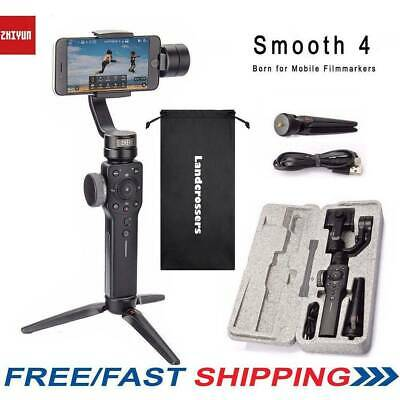 Zhiyun Smooth 4 Handheld 3-Axis Smartphone Gimbal Stabilizer fit iPhone X Galaxy
