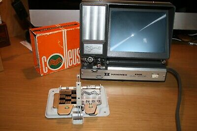 HANIMEX E300 SUPER 8 AND STANDARD 8 MOVIE EDITOR and COLLEUSE MARGUET SPLICER