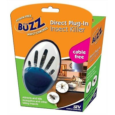 The Buzz PLUG-IN SINGLE INSECTICIDE buzzer for Flying & Biting Insects