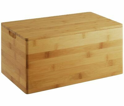 Home, Furniture & Diy Food & Kitchen Storage Habitat 'panda' Solid Bamboo Bread Bin Bnib