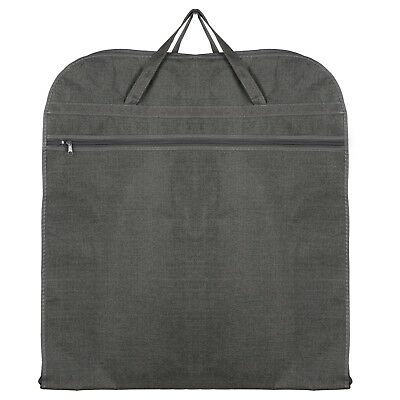 Hoesh UK Grey Breathable Men Travel Suit Carrier Cover Garment Storage Bags
