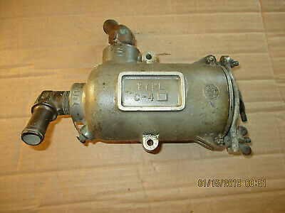 1930s, 1940s Fuel Filter Housing Assembly, Type C-4, U-650
