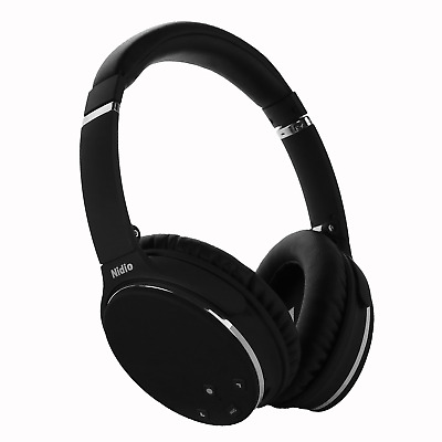 b2a05bba766 NOISE CANCELLING HEADPHONES, Nidio Bluetooth Wireless Over Ear Headset,  Foldable - EUR 76,57 | PicClick FR
