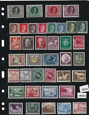 #3616    MNH stamp set / Adolph Hitler / Nazi Germany / Third Reich / MNH stamps