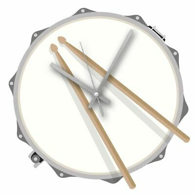 Hot House Design Rock Club Clock Drum