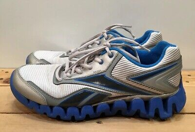 Reebok Zigtech Silver Grey Blue Athletic Running Shoes Sneakers Mens US Size  7 7af759a43