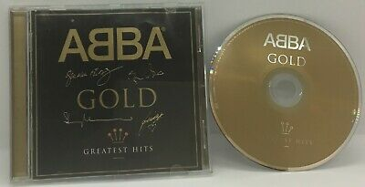 ABBA Gold - Greatest Hits CD Album Limited Edition Signature Issue