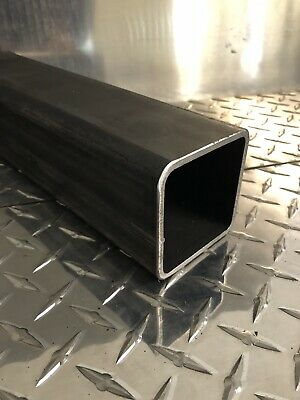 "3"" x 3"" x 3/16"" Hot Rolled Steel Square Tubing x 12"" Long"