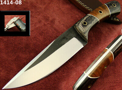 Alistar Fixed Blade 1095 High Carbon Steel Hunting Skinning/Bowie Knife 1414-08